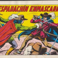 Tebeos: EL ESPADACHÍN ENMASCARADO 2ª. VALENCIANA 1981.Nº 1.. Lote 36827672