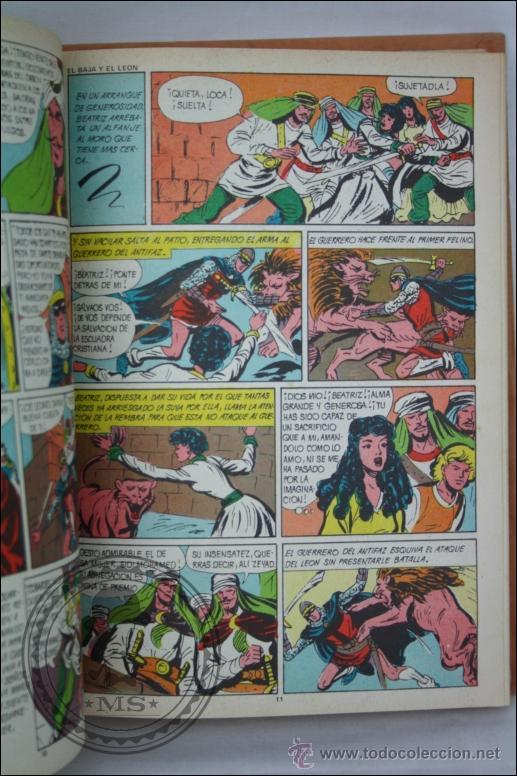 Tebeos: Libro / Cómic El Guerrero del Antifaz - Tomo 11. Episodios 201 al 220 - Editorial Valenciana - 1976 - Foto 2 - 128305538
