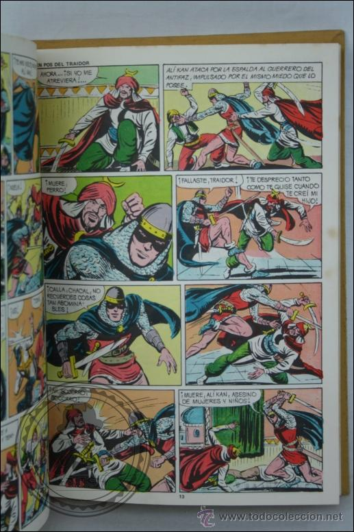 Tebeos: Libro / Cómic El Guerrero del Antifaz - Tomo 7. Episodios 121 al 140 - Editorial Valenciana - 1975 - Foto 2 - 44992534