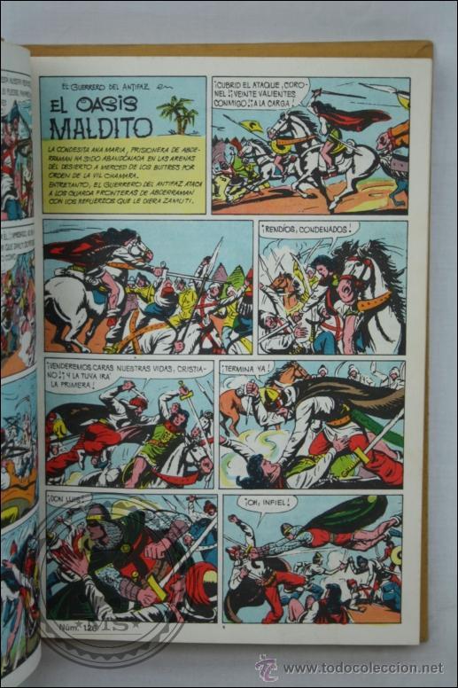 Tebeos: Libro / Cómic El Guerrero del Antifaz - Tomo 7. Episodios 121 al 140 - Editorial Valenciana - 1975 - Foto 3 - 44992534