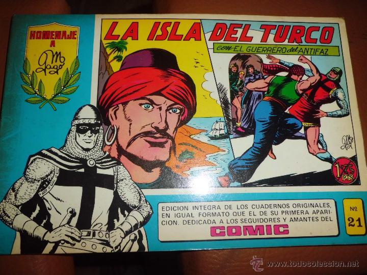 Tebeos: LOTE DE COMICS el guerrero el espadachin enmascarado y zona 84 ed. especial ed valenciana - Foto 2 - 44997282