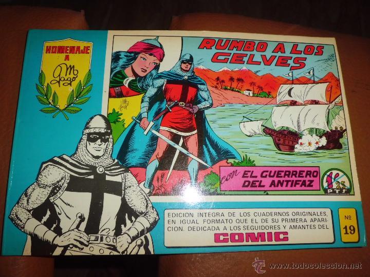 Tebeos: LOTE DE COMICS el guerrero el espadachin enmascarado y zona 84 ed. especial ed valenciana - Foto 3 - 44997282