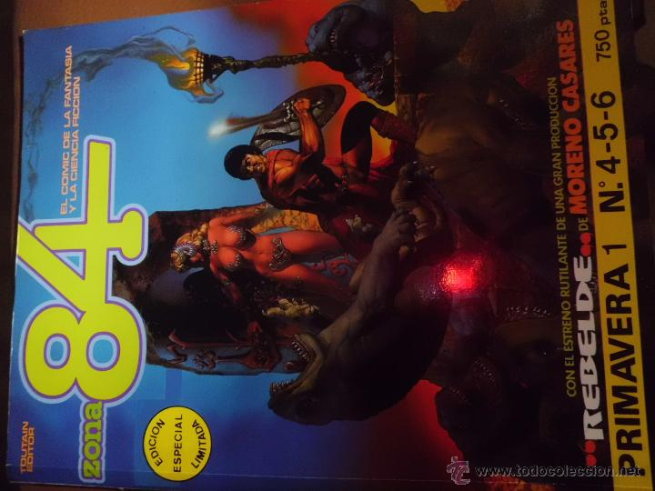 Tebeos: LOTE DE COMICS el guerrero el espadachin enmascarado y zona 84 ed. especial ed valenciana - Foto 5 - 44997282