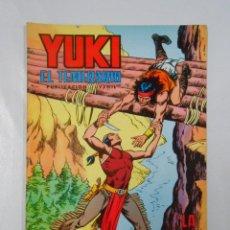 Tebeos: YUKI EL TEMERARIO. Nº 10. LA GRUTA DE LOS CAIMANES. VALENCIANA 1976. TDKC2. Lote 45048127