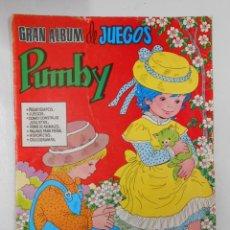 Tebeos: GRAN ALBUM DE JUEGOS PUMBY Nº 35. EDITORIAL VALENCIANA. TDKC2. Lote 45064390