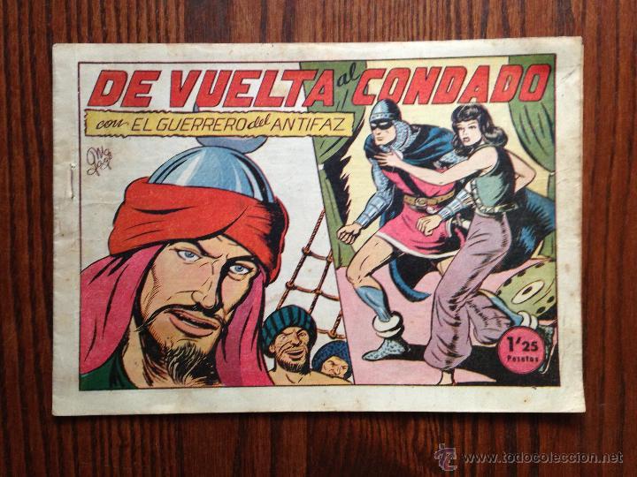 DE VUELTA AL CONDADO (Tebeos y Comics - Valenciana - Guerrero del Antifaz)
