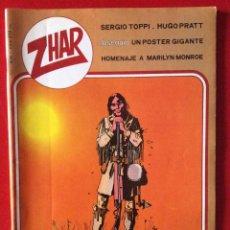 "Tebeos: ""ZHAR"", Nº1. EDITORA VALENCIANA, 1983.. Lote 45216796"