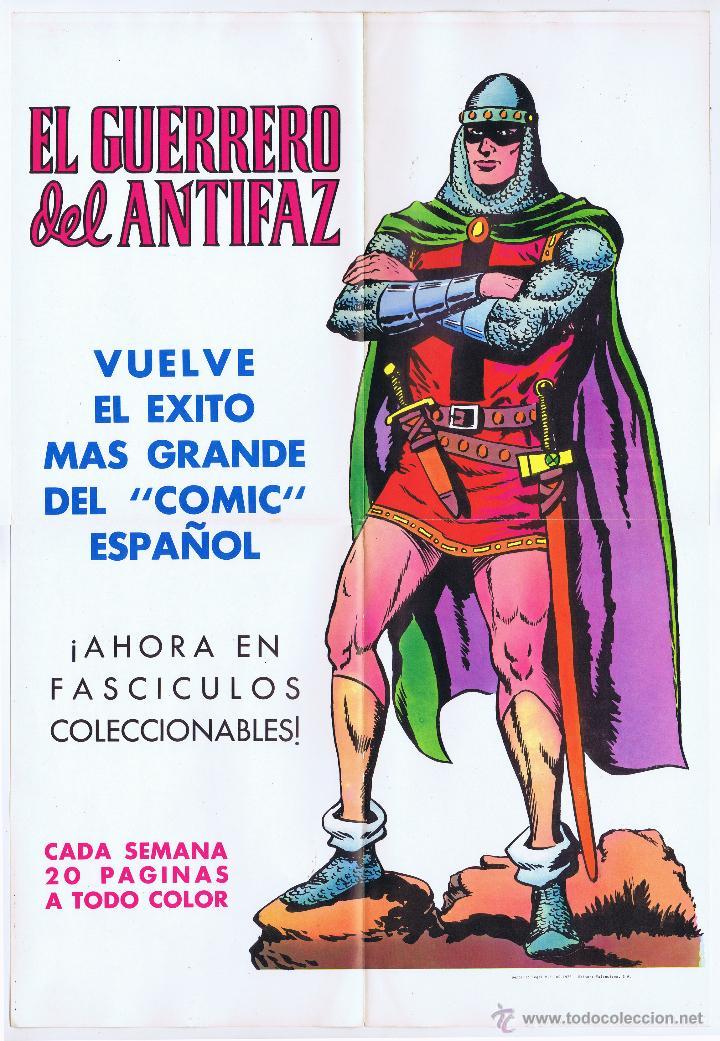 Tebeos: LOTE DE 10+2 CARTELES ED. VALENCIANA GUERRERO ANTIFAZ R. ALCAZAR LUCHADORES ESPACIO SUPERMAN OFRT - Foto 14 - 192163333