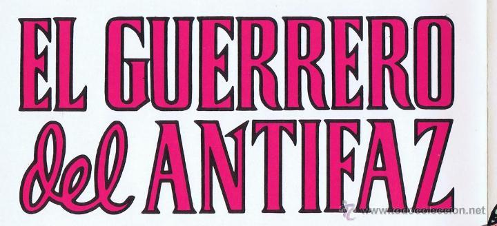 Tebeos: LOTE DE 10+2 CARTELES ED. VALENCIANA GUERRERO ANTIFAZ R. ALCAZAR LUCHADORES ESPACIO SUPERMAN OFRT - Foto 15 - 192163333