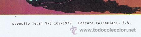 Tebeos: LOTE DE 10+2 CARTELES ED. VALENCIANA GUERRERO ANTIFAZ R. ALCAZAR LUCHADORES ESPACIO SUPERMAN OFRT - Foto 16 - 192163333