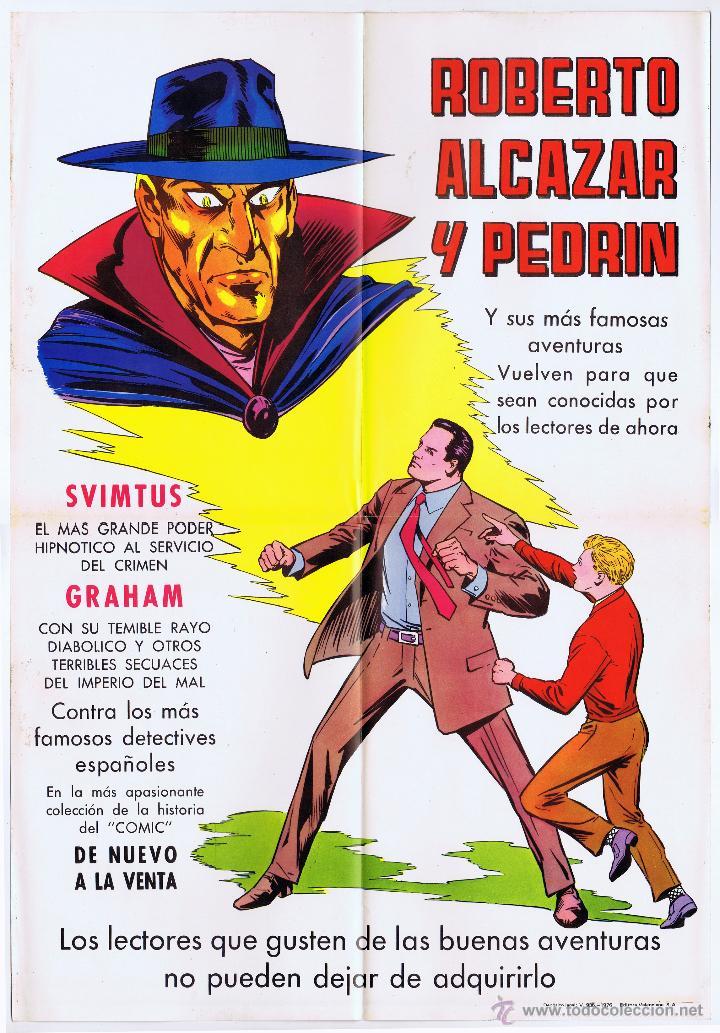 Tebeos: LOTE DE 10+2 CARTELES ED. VALENCIANA GUERRERO ANTIFAZ R. ALCAZAR LUCHADORES ESPACIO SUPERMAN OFRT - Foto 17 - 192163333