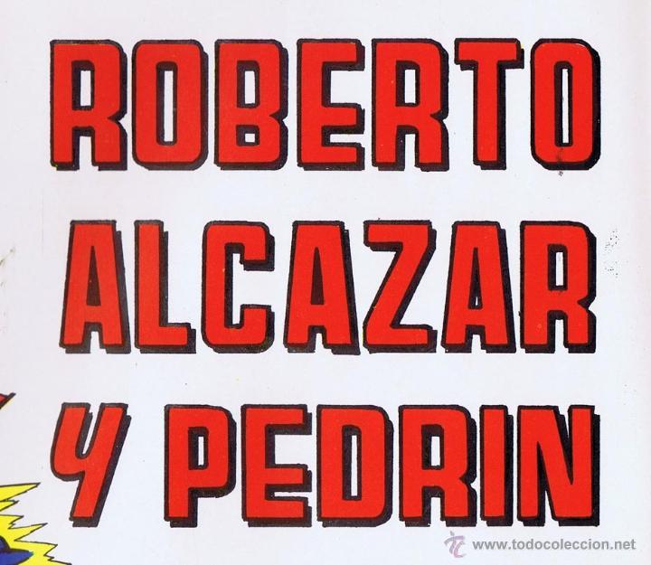 Tebeos: LOTE DE 10+2 CARTELES ED. VALENCIANA GUERRERO ANTIFAZ R. ALCAZAR LUCHADORES ESPACIO SUPERMAN OFRT - Foto 18 - 192163333