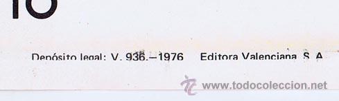 Tebeos: LOTE DE 10+2 CARTELES ED. VALENCIANA GUERRERO ANTIFAZ R. ALCAZAR LUCHADORES ESPACIO SUPERMAN OFRT - Foto 19 - 192163333