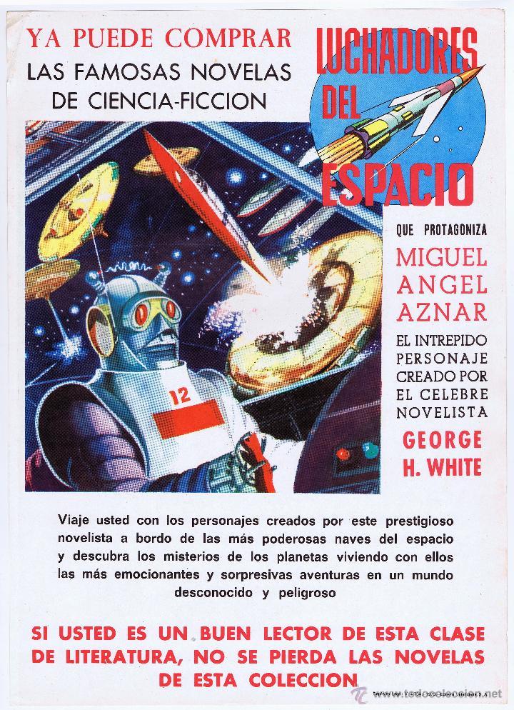 Tebeos: LOTE DE 10+2 CARTELES ED. VALENCIANA GUERRERO ANTIFAZ R. ALCAZAR LUCHADORES ESPACIO SUPERMAN OFRT - Foto 20 - 192163333