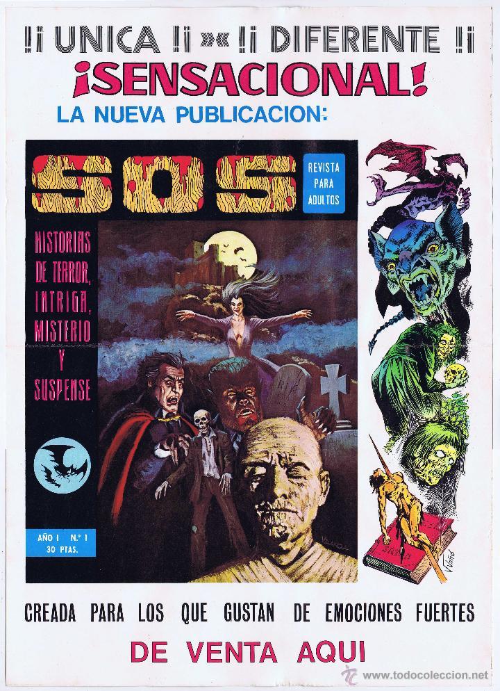 Tebeos: LOTE DE 10+2 CARTELES ED. VALENCIANA GUERRERO ANTIFAZ R. ALCAZAR LUCHADORES ESPACIO SUPERMAN OFRT - Foto 35 - 192163333