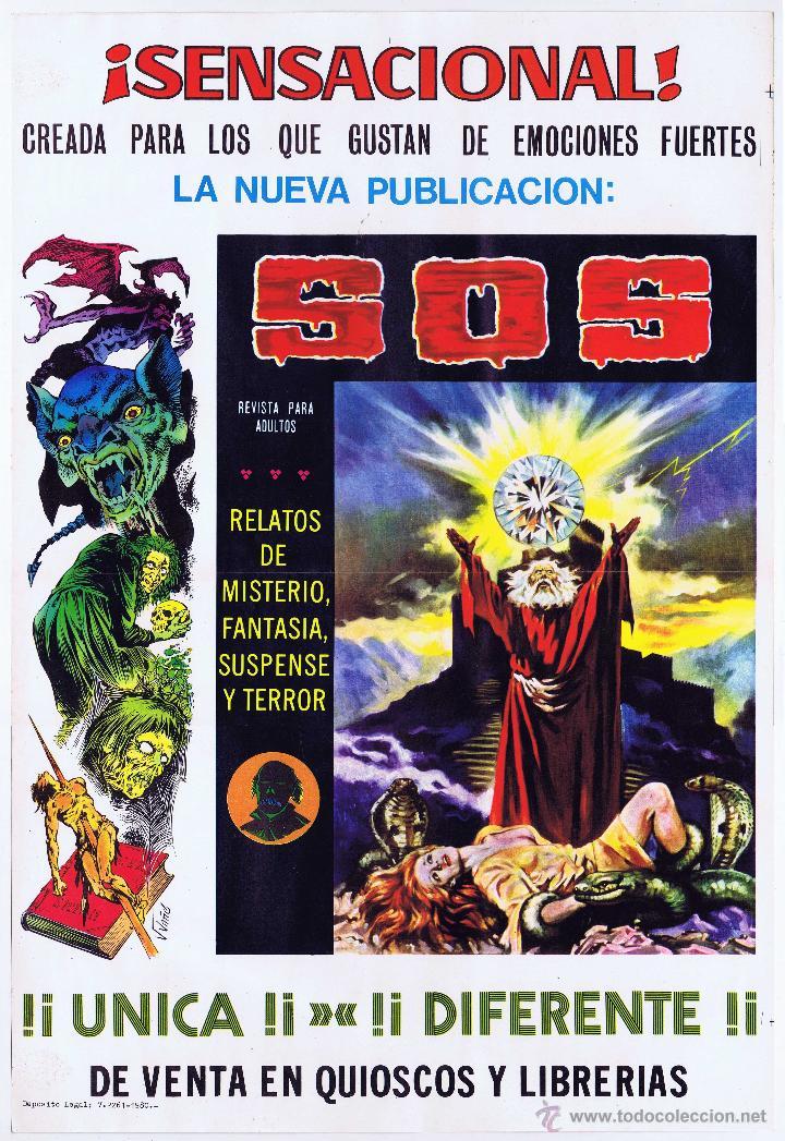 Tebeos: LOTE DE 10+2 CARTELES ED. VALENCIANA GUERRERO ANTIFAZ R. ALCAZAR LUCHADORES ESPACIO SUPERMAN OFRT - Foto 37 - 192163333