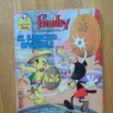 Tebeos: PUMBY EL EJERCITO INVISIBLE, . Lote 45276940