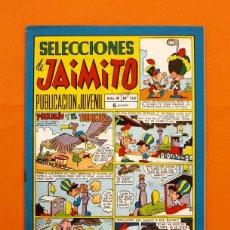 Tebeos: SELECCIONES DE JAIMITO Nº 120 - EDITORIAL VALENCIANA - AÑO XI -. Lote 45292555