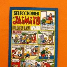 Tebeos: SELECCIONES DE JAIMITO Nº 124 - EDITORIAL VALENCIANA - AÑO XI -. Lote 45292589