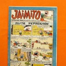 Tebeos: JAIMITO Nº 465 - EDITORIAL VALENCIANA - AÑO XIII -. Lote 45294046