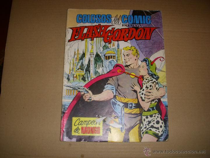 COLOSOS DEL COMIC PRESENTA FLASH GORDON Nº 9, EDITORIAL VALENCIANA (Tebeos y Comics - Valenciana - Colosos del Comic)
