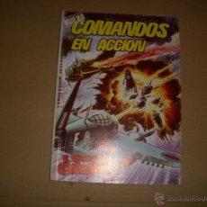 Tebeos: COMANDOS EN ACCIÓN Nº 8, EDITORIAL VALENCIANA. Lote 45297496