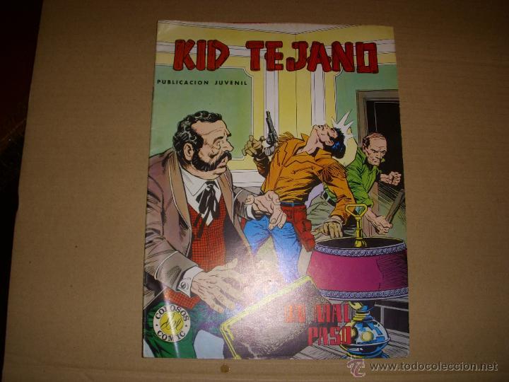 COLOSOS DEL COMIC, KID TEJANO Nº 17, EDITORIAL VALENCIANA (Tebeos y Comics - Valenciana - Colosos del Comic)