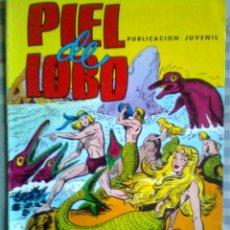 Tebeos: PIEL DE LOBO-COLOSOS DEL CÓMIC- Nº 10 -GRAN MANUEL GAGO-DIFICIL-BUENO-1980-LEAN-4273. Lote 236326595