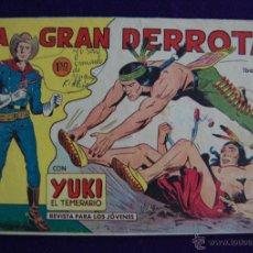 Tebeos: YUKI EL TEMERARIO. Nº23. AÑO 1958. ORIGINAL. EDIT VALENCIANA. Lote 45665693