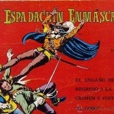 Tebeos: EL ESPADACHIN ENMASCARADO TOMO 5 (1981). Lote 45673174