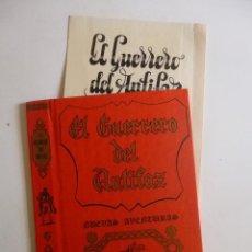 Tebeos: TAPAS NUEVAS AVENTURAS DEL GUERRERO DEL ANTIFAZ TAPAS 1, 3, 4(VALENCIANA 1980)OFRT. Lote 101131382