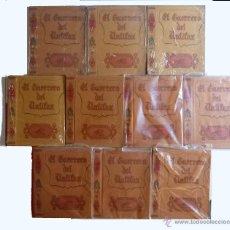 Tebeos: TAPAS AVENTURAS DEL GUERRERO DEL ANTIFAZ 6, 7, 8, 9, 10, 11, 12, 13, 16, 17 (VALENCIANA 1980) OFRT. Lote 118611884