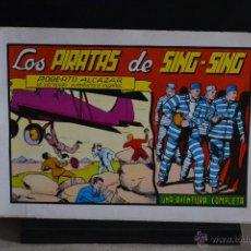 Tebeos: ROBERTO ALCAZAR Y PEDRIN Nº 24. LOS PIRATAS DE SING-SING. VALENCIANA 1982. LITERACOMIC.. Lote 45705447