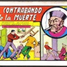Tebeos: ROBERTO ALCAZAR Y PEDRIN Nº 25. EL CONTRABANDO DE LA MUERTE. VALENCIANA 1982. LITERACOMIC.. Lote 45725066
