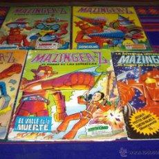 Tebeos: MAZINGER Z NºS 2, 3, 5, 7, 9 Y 10 Y LA AUTÉNTICA HISTORIA Nº 1. VALENCIANA 1978. 35 PTS.. Lote 45753284