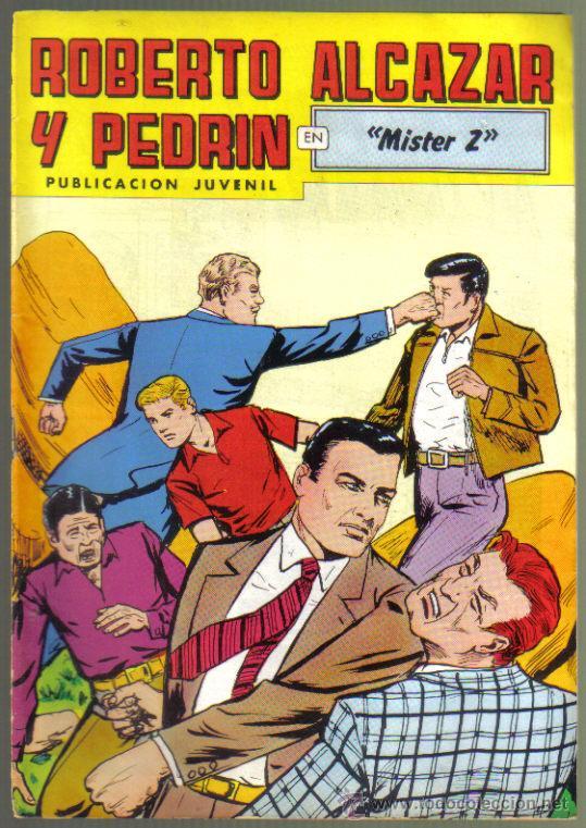 ROBERTO ALCAZAR Y PEDRIN Nº 244. MISTER Z. LITERACOMIC. (Tebeos y Comics - Valenciana - Roberto Alcázar y Pedrín)