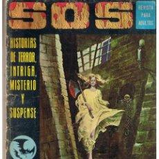 Livros de Banda Desenhada: S. O. S. HISTORIAS DE TERROR, INTRIGA, MISTERIO Y SUSPENSE. AÑO I. Nº 4. EDIVAL 1975 (RF.MA). Lote 45757248