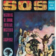 Livros de Banda Desenhada: S. O. S. HISTORIAS DE TERROR, INTRIGA, MISTERIO Y SUSPENSE. AÑO I. Nº 11. EDIVAL 1975 (RF.MA). Lote 45757267