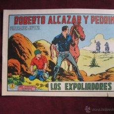 Tebeos: ROBERTO ALCAZAR Y PEDRÍN Nº 1002. LOS EXPOLIADORES. VALENCIANA, ORIGINAL 1971 TEBENI MBE. Lote 45778388