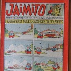 Tebeos: JAIMITO Nº 455 EDITORIAL VALENCIANA MAGNIFICO ESTADO. Lote 45784025