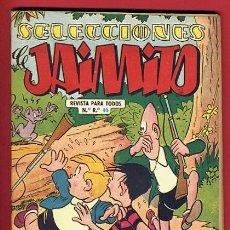 Tebeos: SELECCIONES DE JAIMITO Nº 2 , VALENCIANA , PEQUEÑO FORMATO , 64 PAGINAS , ORIGINAL. Lote 45834120