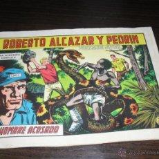 Tebeos: ROBERTO ALCAZAR Y PEDRIN EL HOMBRE ACOSADO. Lote 45966058