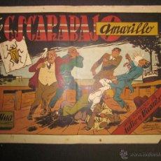 Tebeos: JULIO Y RICARDO - EL ESCARABAJO AMARILLO - 1 PESETA - (COM-234). Lote 45982229
