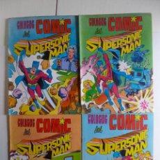 Tebeos: COLOSOS DEL COMIC , SUPERSONIC MAN NºS 1, 2, 3, 4 , VALENCIANA 1979. Lote 132303135