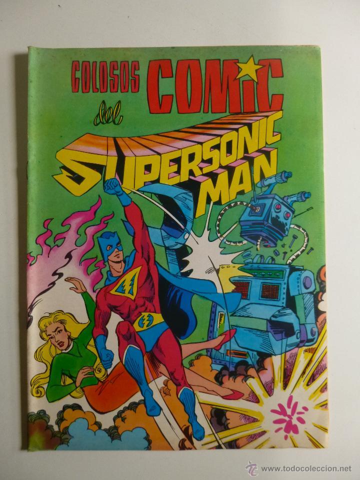 Tebeos: COLOSOS DEL COMIC , SUPERSONIC MAN NºS 1, 2, 3, 4 , VALENCIANA 1979 - Foto 6 - 132303135