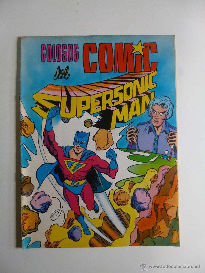 Tebeos: COLOSOS DEL COMIC , SUPERSONIC MAN NºS 1, 2, 3, 4 , VALENCIANA 1979 - Foto 8 - 132303135