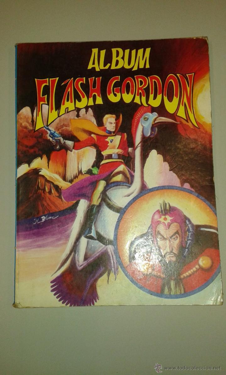 ALBUM FLASH GORDON. NÚMERO 8 .COLOSOS DEL CÓMIC. EDITORIAL VALENCIANA 1980 (Tebeos y Comics - Valenciana - Colosos del Comic)