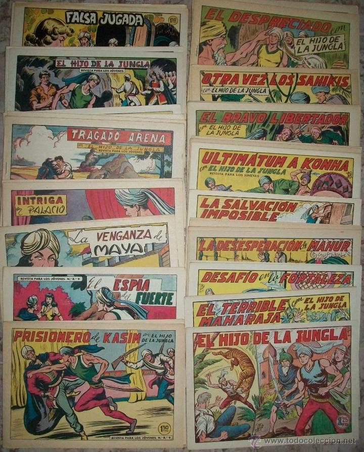 EL HIJO DE LA JUNGLA (VALENCIANA) (COMPLETA 86 NUMEROS SIN ABRIR) (Tebeos y Comics - Valenciana - Hijo de la Jungla)