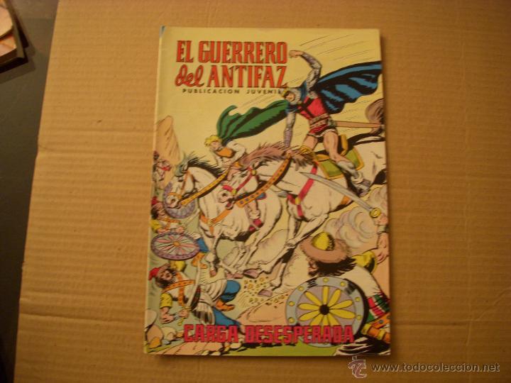 EL GUERRERO DEL ANTIFAZ Nº 332, VALENCIANA COLOR (Tebeos y Comics - Valenciana - Guerrero del Antifaz)