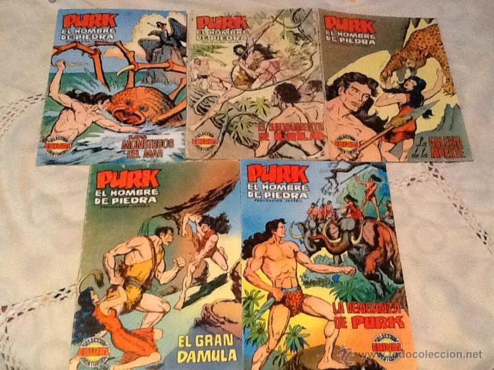 CÓMICS PURK EL HOMBRE DE PIEDRA (Tebeos y Comics - Valenciana - Purk, el Hombre de Piedra)